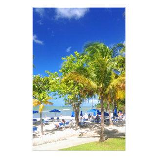 Vue exotique d'Hawaï Papeterie