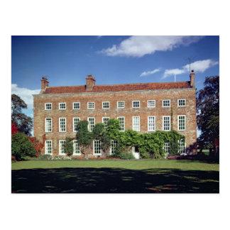 Vue extérieure de bas Middleton Hall Carte Postale