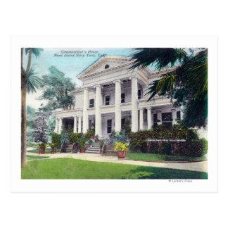 Vue extérieure de House de commandant, arsenal de Cartes Postales