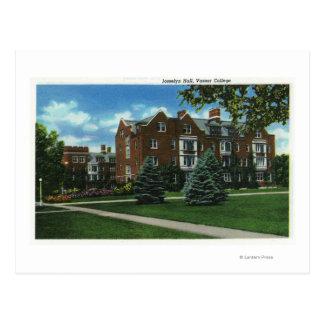 Vue extérieure de Josselyn Hall, université de Carte Postale