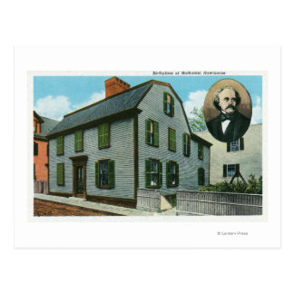 Vue extérieure de Nathaniel Hawthorne Carte Postale