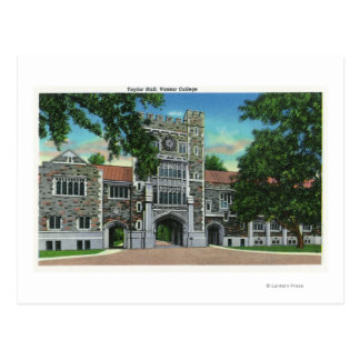 Vue extérieure de Taylor Hall, université de Carte Postale