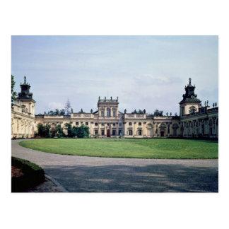 Vue extérieure du palais, c.1677 construit cartes postales