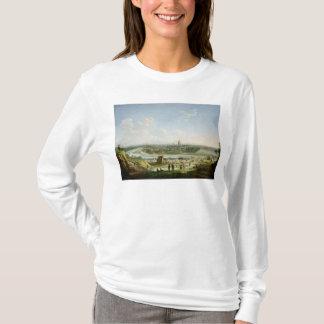Vue générale de Paris de la colline de Chaillot T-shirt
