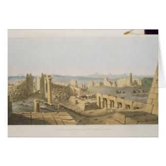 Vue générale des ruines du grand temple de C Cartes