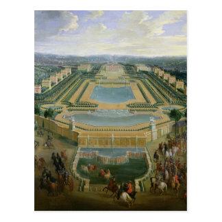 Vue générale du château carte postale