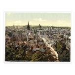 Vue générale et grand-rue, clas d'Oxford, Angleter Carte Postale