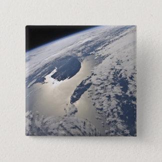 vue Haut-oblique de la péninsule de Gaspé Pin's