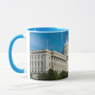 Vue occidentale de bâtiment de capitol mugs