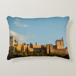 Vue panoramique de la forteresse d'Alhambra Coussins Décoratifs