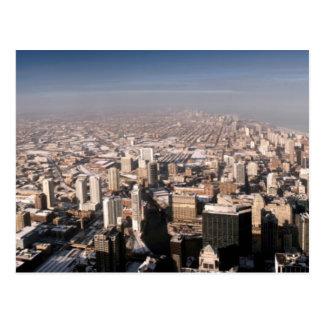 Vue panoramique de la ville cartes postales