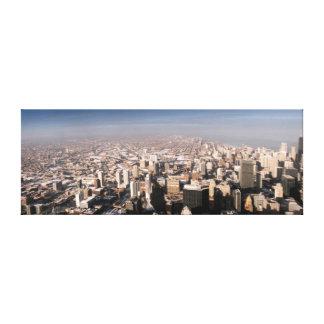 Vue panoramique de la ville toiles