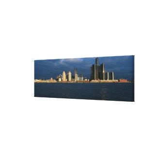 'Vue panoramique de lever de soleil de centre de Toiles