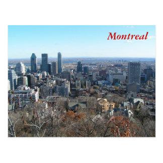 Vue panoramique de Montréal Carte Postale