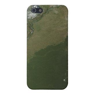 Vue satellite de Colombie orientale Étuis iPhone 5