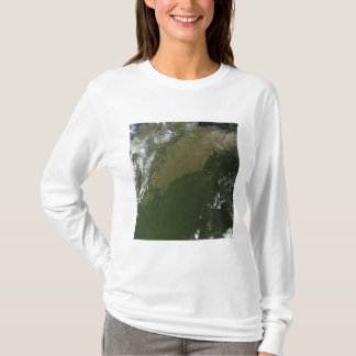 Vue satellite de Colombie orientale T-shirt