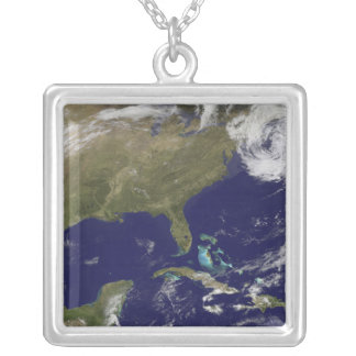 Vue satellite de la Côte Est des Etats-Unis Collier