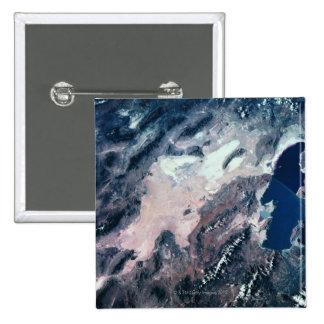 Vue satellite de la terre badges