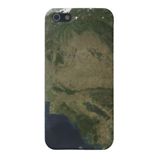 Vue satellite de l'Indochine Étuis iPhone 5