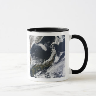 Vue satellite du Japon Mugs