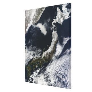 Vue satellite du Japon Toiles
