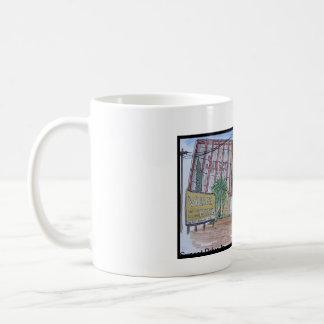 Vues de San Luis Obispo, drive-in de coucher du Mug
