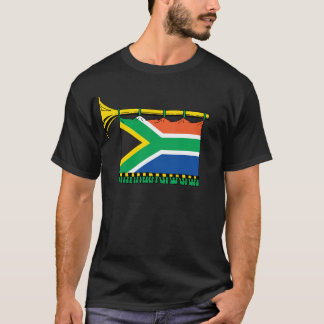 Vuvuzela de l'Afrique du Sud T-shirt