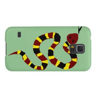 VW art coloré de primitif de serpent Protections Galaxy S5