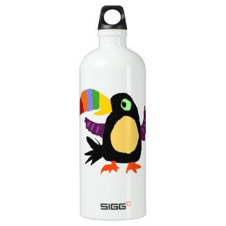 VW art drôle de primitif d'oiseau de toucan