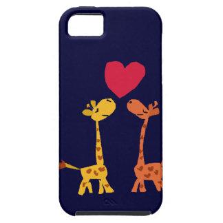VW bande dessinée drôle d'amour de girafe Coques Case-Mate iPhone 5