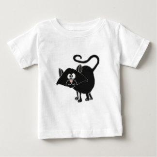 VW bande dessinée drôle de chat noir T-shirts
