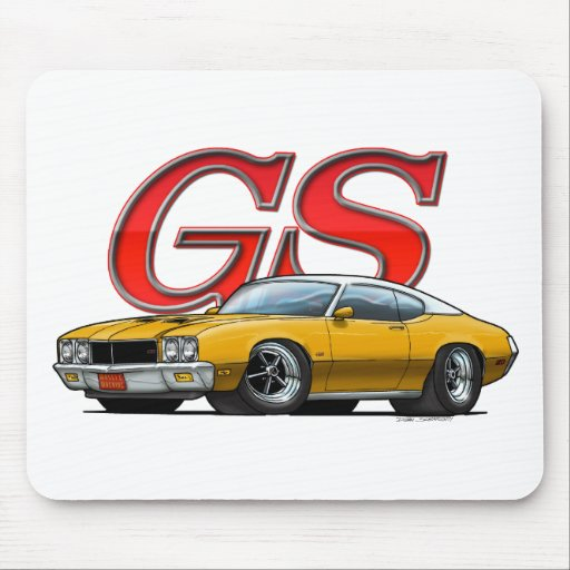 VW de Buick GS_Gold Tapis De Souris