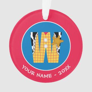 W est pour Woody que   ajoutent votre nom