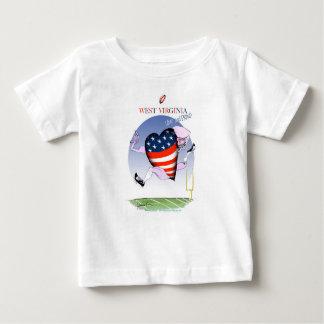 W fernandes élégants bruyants et fiers de la t-shirt pour bébé