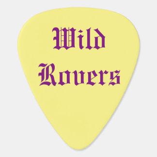 W.R. PIC jaune de guitare Onglet De Guitare