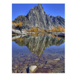 WA, région sauvage alpine de lacs, enchantement Carte Postale