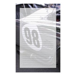 WA, Seattle, automobile américaine classique. 2 Motifs Pour Papier À Lettre