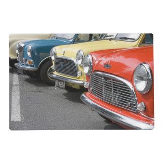 WA, Seattle, automobile britannique classique Set De Table Stratifié