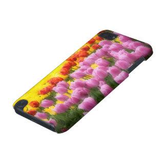WA, vallée de Skagit, jardin de tulipe de Roozenga Coque iPod Touch 5G