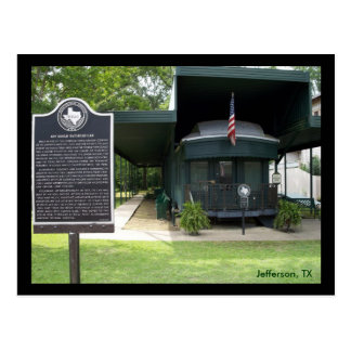 Wagon du chemin de fer de Gould de geai Carte Postale