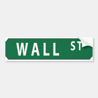 Wall Street Autocollant De Voiture