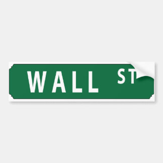 Wall Street Autocollant Pour Voiture