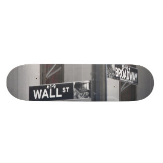 Wall Street et Broadway par le lensgerrit Skateboards