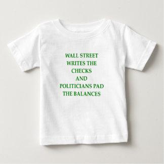 Wall Street T-shirt Pour Bébé