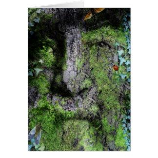 """Walt Whitman : L'homme vert "" Carte De Vœux"