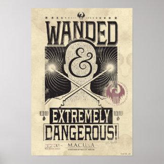 Wanded et affiche voulue extrêmement dangereuse - posters