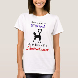 Warlock peut aimer un Shadowhunter T-shirt