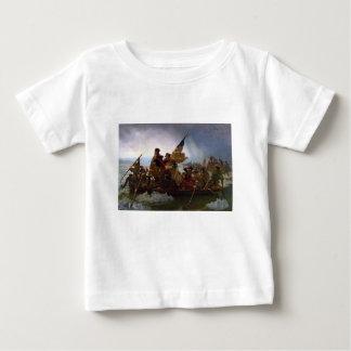 Washington art de cru croisant Delaware - USA T-shirt Pour Bébé
