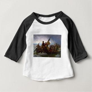 Washington art vintage croisant Delaware - USA T-shirt Pour Bébé