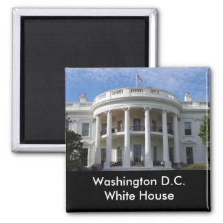 Washington D.C. White House Magnet Carré